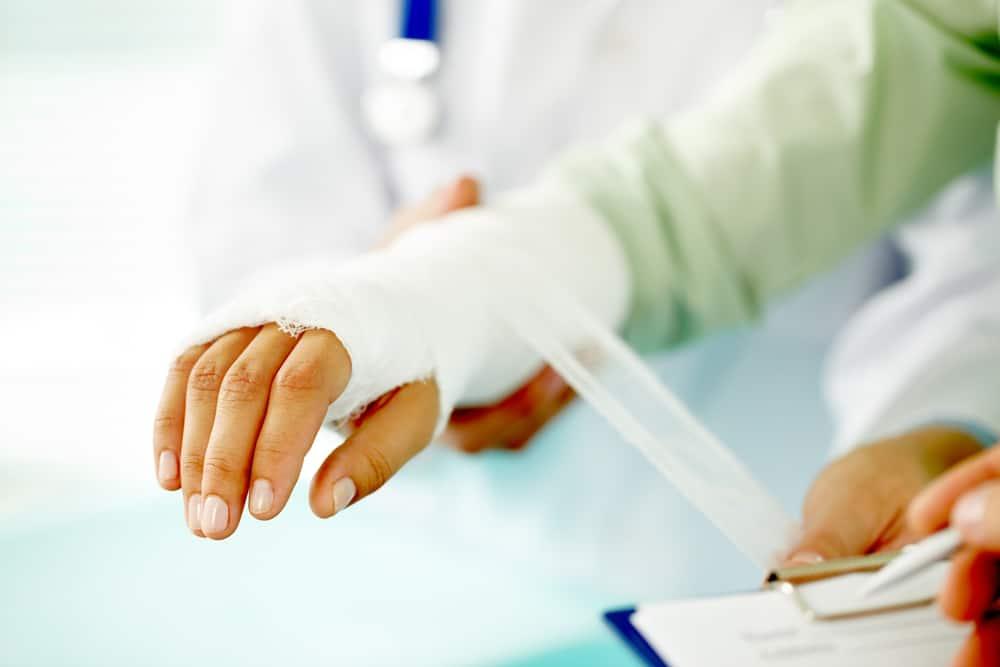 Razgibavanje ruke nakon gipsa