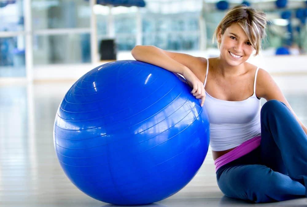 Kako napumpati pilates loptu